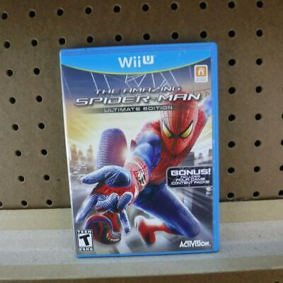 Nintendo Wii U WiiU Game The Amazing Spider-Man Ultimate Edition