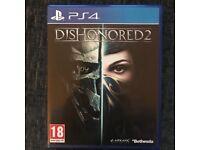 PS4: Shadow of Mordor, Dishonoured 2. COD WW2.