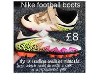 "Size 13 "" kids "" football boots"