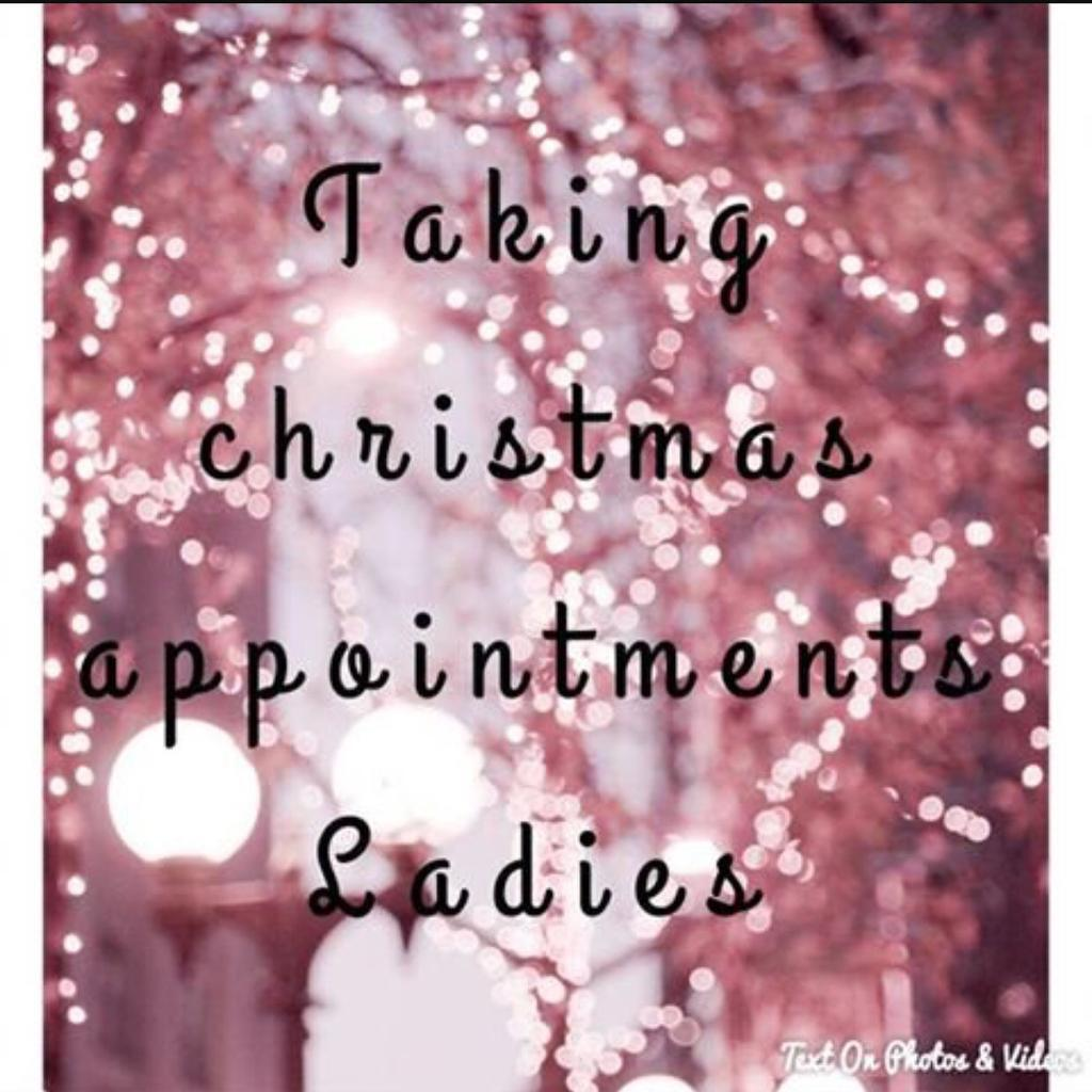 Christmas Beauty Appointments.Christmas Appointments Available To Book Now In Denny