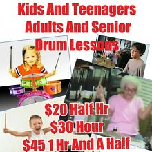 ATTENTION DRUM LESSONS LOOK NO FURTHER Hamilton Brisbane North East Preview