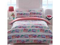 Palm Beach Postcard Duvet Bedding Quilt Cover Set Pillowcase Single Double King