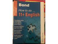 Bond 11+ English How to do