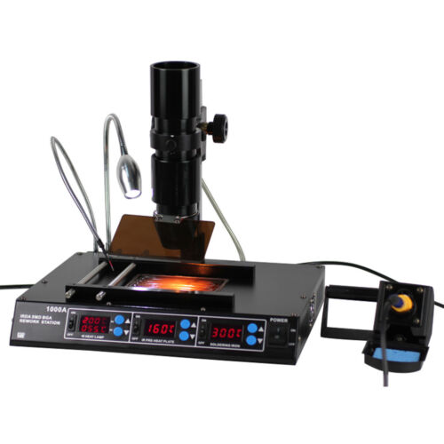 HIG BGA SMD Infrared Rework Station IRDA Soldering Welder Preheating Machine New