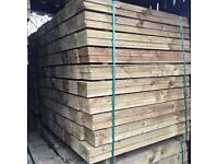 🌲High Quality Feather Edge Tanalised Timber Fencing Pieces • Various Sizes