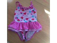 Baby/Toddler Girl swimsuits (variety) 0-18 months
