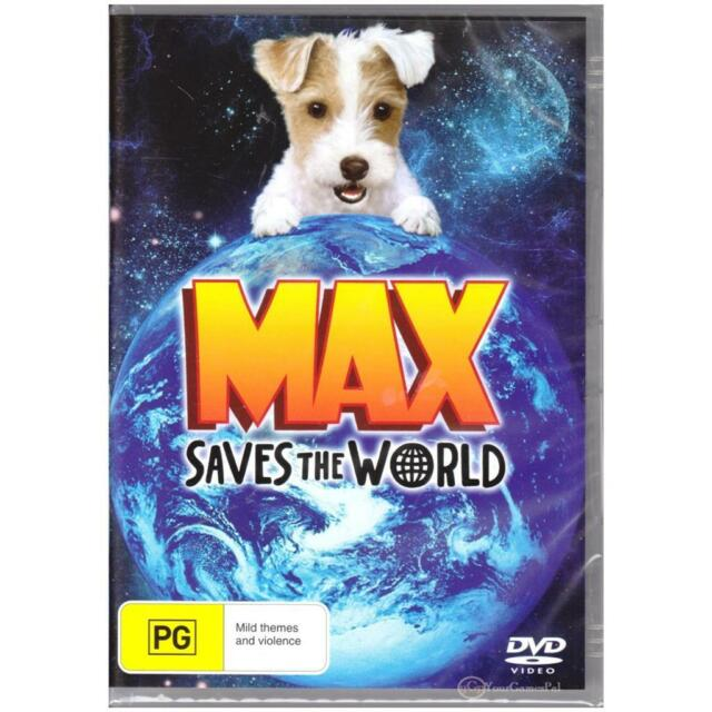 DVD MAX SAVES THE WORLD  Gerrianne Genga Charlie Tacker Family Boy Dog R4 [BNS]