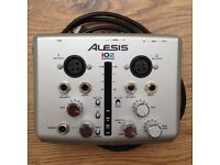 2 channel Alesis audio interface available