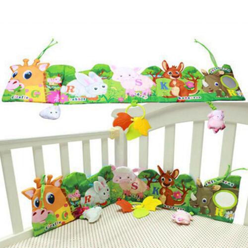 Baby Activity Book Aktivität Buch Stoff-Buch Tierspielzeug Pädagogisch Spielzeug