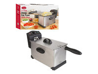 Quest Professional Stainless Steel Deep Fat Chip Fryer 3L 3 Litre. New in box!