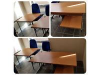 OFFICE DESK AND 2 TABLES FOR SALE-£160.00 PLUS VAT