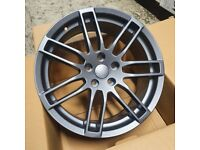 x4 18 Inch RS4-B Style Alloy Wheels 8J Et42 5x112 Audi TT A3 A4 Vw Golf Caddy