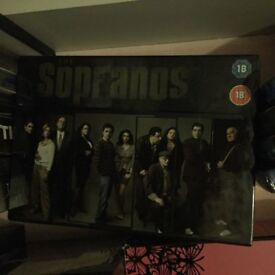 the sopranos complete dvd boxset brand new still sealed season 1 2 3 4 5 all series