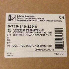 """Worcester Bosch Control Board Assembly 28i """"New Condition"""""""
