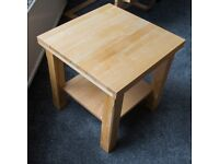 Light Oak Side Table (3 exactly the same are available(