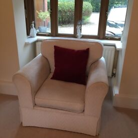 Two seater and two chairs suite