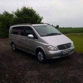 Mercedes-Benz Viano 2.2 CDI Ambiente Long MPV 5dr - 12 months MOT, 8 Seats