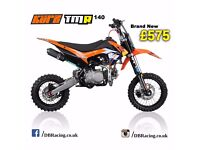 KURZ TMR 140cc Off Road Pit Bike 83cm Seat Height Pitbike, Not Road Legal, Nationwide Delivery £99
