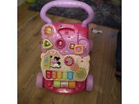 Baby pink walker