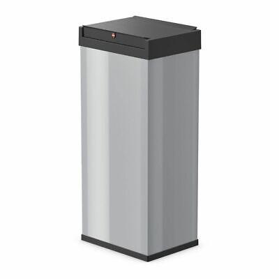 Hailo Waste Bin Trash Disposal Box Big-Box Swing Size XL 52 L Silver 0860-221