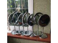 7x magnifying vanity mirrors