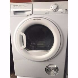 66 Hotpoint TCYM750C 7.5kg White Condenser Tumble Dryer 1 YEAR GUARANTEE FREE DELIVERY