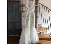 Petite wedding dress / prom dress