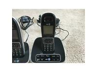 Cordless phones x 3