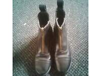 kids shire horse riding boots size 12 half