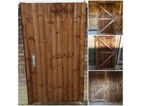 Featheredge gate 3ft x 6ft