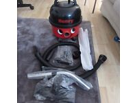 henry hoover with brand new tools pipes in bag great working reliable brand