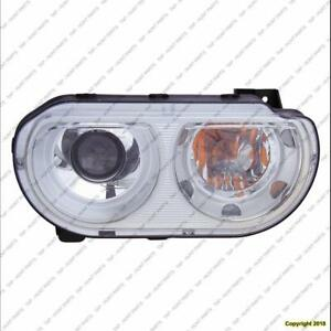 Head Light Driver Side Xenon Without Bulb High Quality Dodge Challenger 2008-2010