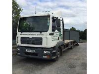 Lorry for sale - Man beavertail 7.5 ton