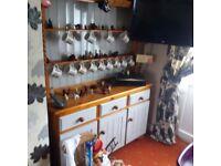 For Sale:- Pine welshdresser