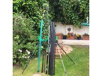 sensas power carp pole 13.5m