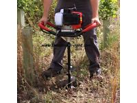 PETROL POST AUGER !!! FREE DELIVERY no more mini digger for fence posts or planting trees and hedges