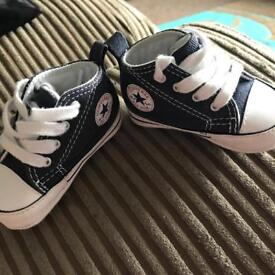 Baby converse (size 1)