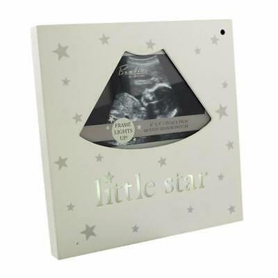Baby Scan Photo Frame Light Up Little Star CG481 - Star Photo Frame