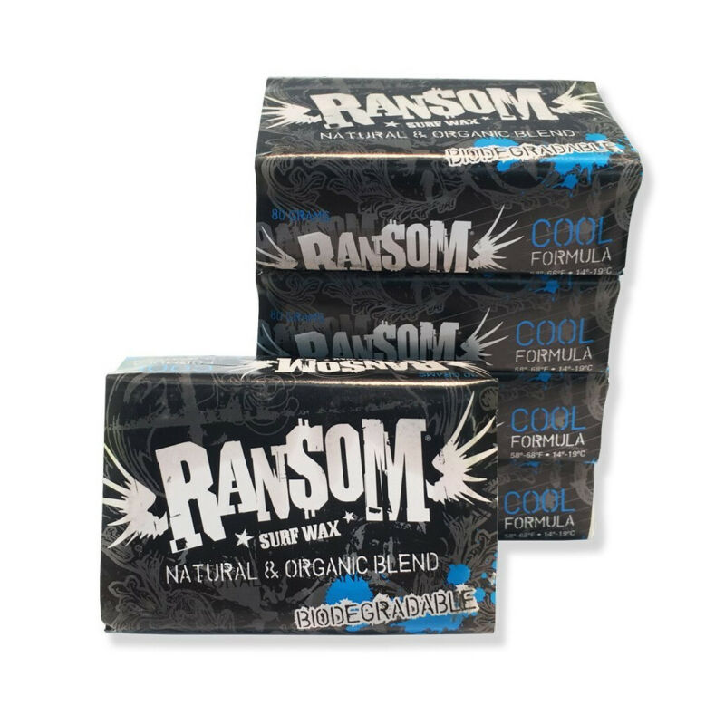 Ransom Surfboard Wax Cool 5-Pack
