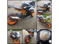 125CC KTM RC 2015 PERFECT EXAMPLE