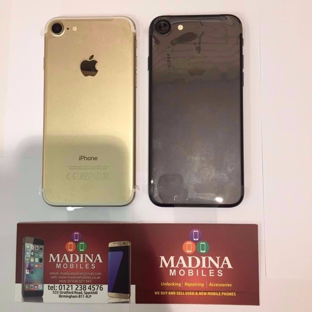 APPLE IPHONE 7 32GB UNLOCKED BRAND NEW COMES WITH APPLE WARRANTY AND ALL ORIGINAL ACCESSORIESin Sparkhill, West MidlandsGumtree - APPLE IPHONE 7 32GB UNLOCKED BRAND NEW COMES WITH APPLE WARRANTY AND ALL ORIGINAL ACCESSORIES FREE WITH THIS PURCHASE GLASS SCREEN PROTECTOR BUY FROM A MOBILE PHONE SHOP FOR PIECE OF MIND. ALL PURCHASES COME WITH SHOP RECEIPT Madina Mobiles 533...