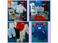 LARGE 0-3 MONTHS BABY BOYS CLOTHES BUNDLE