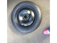 Ford C Max space saver spare wheel