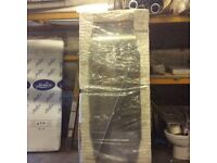 NEW 1800h X 800w glass shower panel