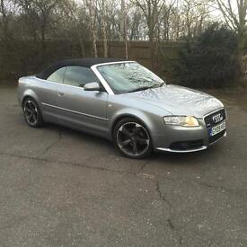 Audi A4 Cabriolet 2.0 TDI S Line Special Edition