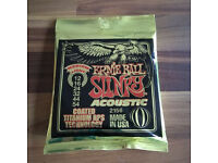 Ernie Ball 2156 Coated Slinky Medium Light Acoustic Guitar Strings