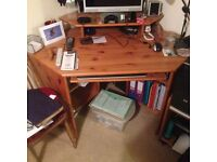 Computer Corner desk unit
