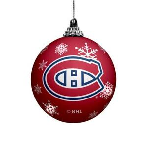 Montreal Canadiens LED Christmas Ornament (New) Canada Preview