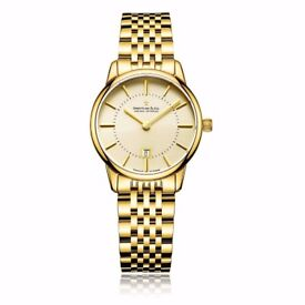Dreyfuss Womens Gold Plated DLB00136/03 Watch - 35% OFF!