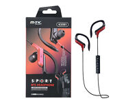 MTK K3391 Bluetooth Sport Earphone - Red Retail price £24.99